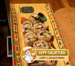 приготовить суши дома