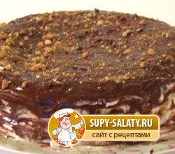 медово - шоколадный торт