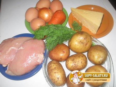 Колдуны из картофеля и мясного фарша  кулинарный рецепт