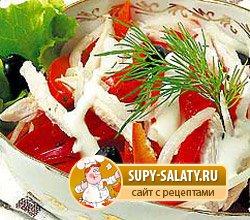 новогодние салаты 2012