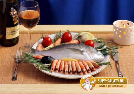 рецепты салатов из овощей и морепродуктов