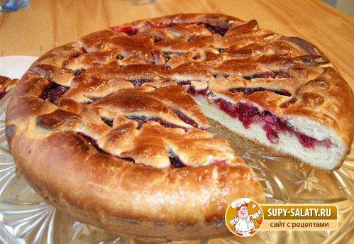 Сдобное тесто для пирогов с повидлом