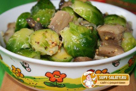Горячие блюда из капусты