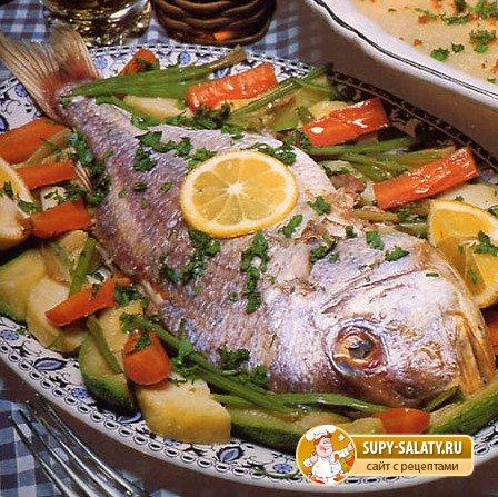 Диетическая рыба на пару