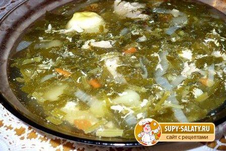 Зеленый борщ с щавелем » Рецепты, фоторецепты, блюда из мяса ...