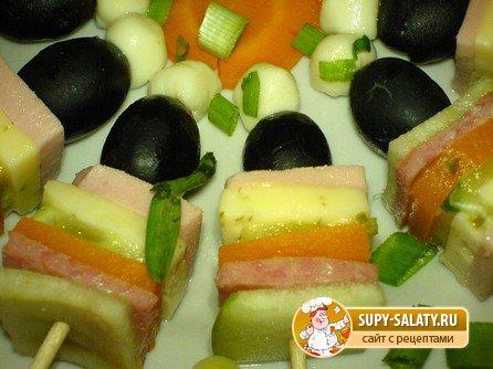 Канапе с оливками сыра рецепты 39