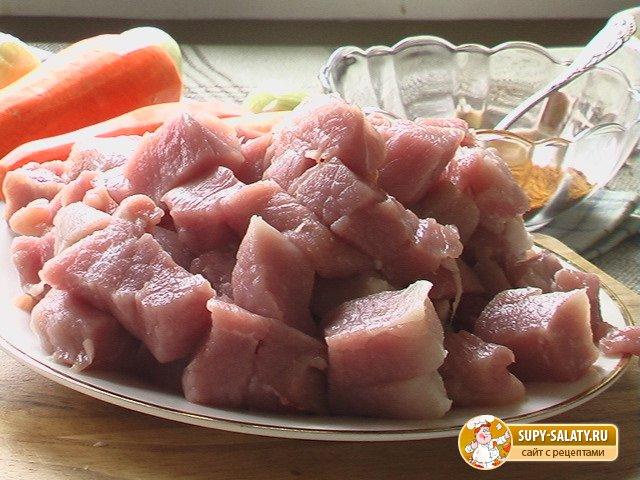 Как пожарить свинину пошаговый рецепт с