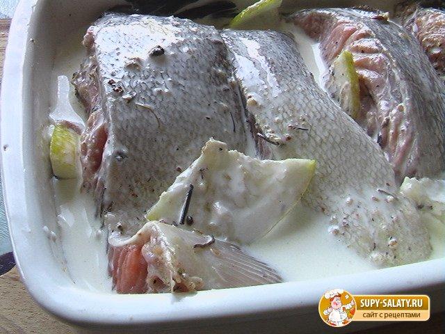 горбуша в сливках рецепт с фото