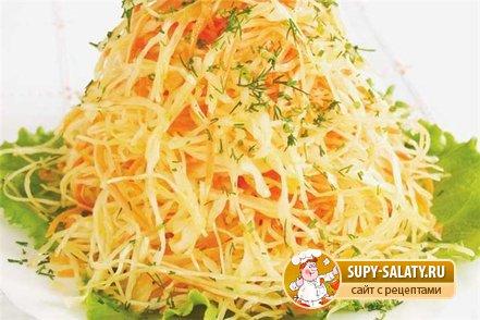 свежей Рецепты капустой с с фото пошагово салатов