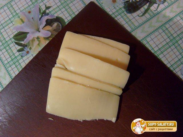 Закуска из баклажан с сыром