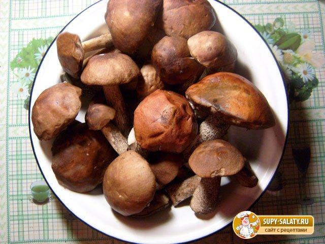 Картошка, жаренная с грибами