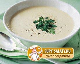 Детские супы на молоке