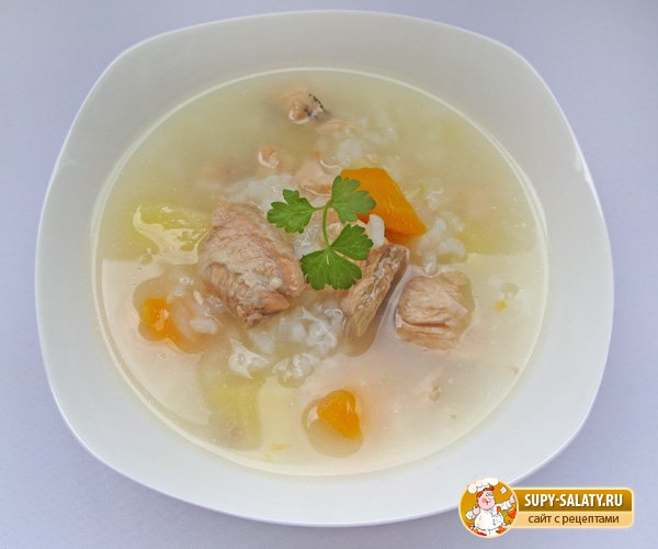 рецепты супов уха с рисом
