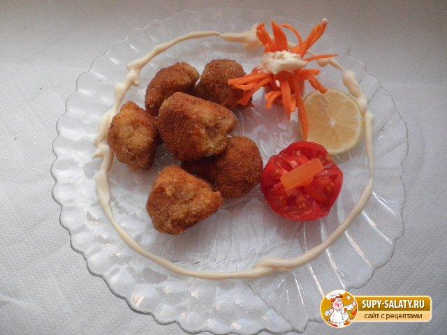 Цветная капуста с золотистой корочкой - рецепт пошаговый с фото