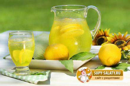 Рецепт лимонного лимонада