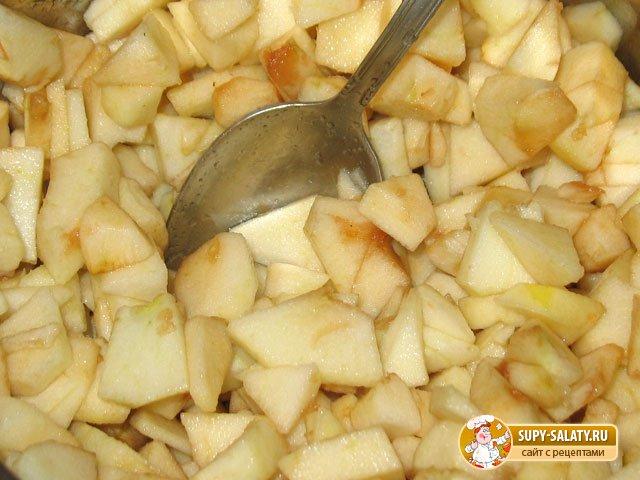 Кармашки с яблоками