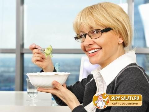 Здоровые блюда для офиса