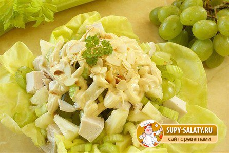 Рецепты салатов на 8 марта