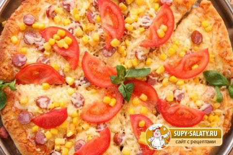 Оригинальная пицца «Экзотика»