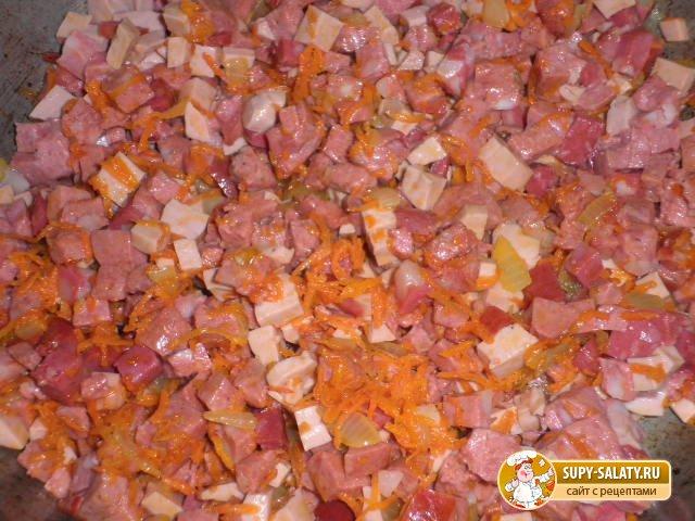 мясная солянка приготовление