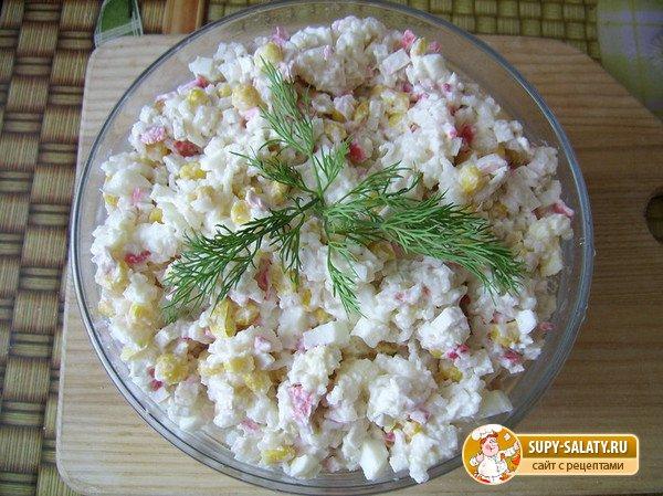 Фото рецепт салата 10 на 10