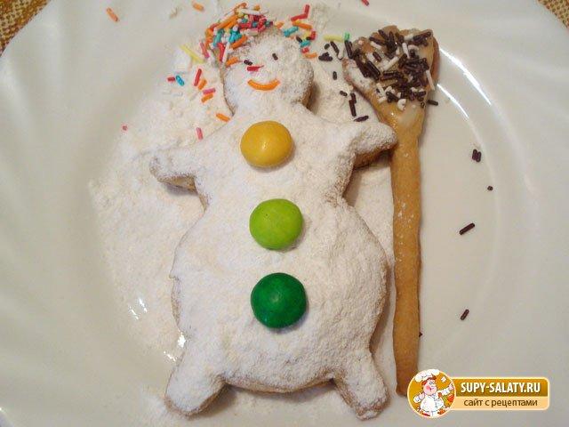 Печенье Снеговик