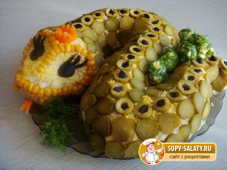 что приготовить на новый 2013 год в год змеи