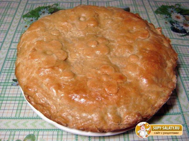 Пирог с картошкой и сыром. Рецепт с пошаговыми фото
