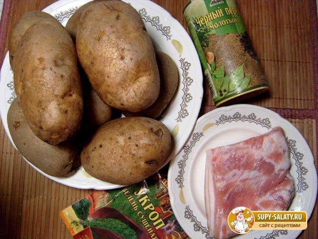 Картошка гармошка рецепт с фото пошагово