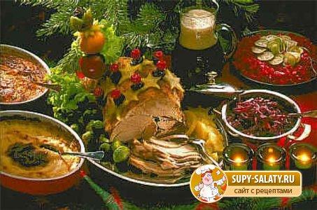 традиционные блюда на рождество 2013