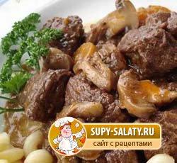 диетические блюда из вареной говядины