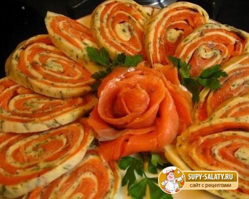 Бутерброды канапе на шпажках на праздничный стол рецепты 154