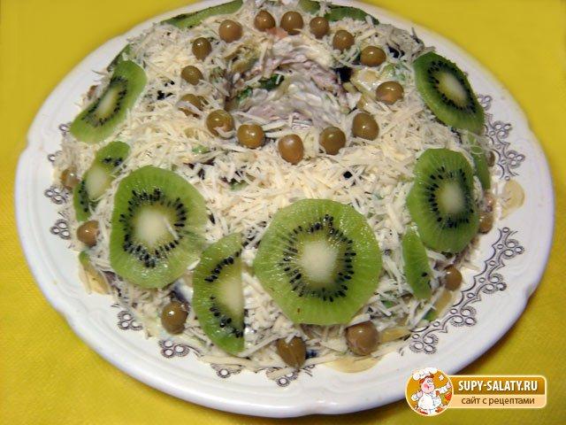 Салат Нефритовое кольцо. Рецепт с пошаговыми фото