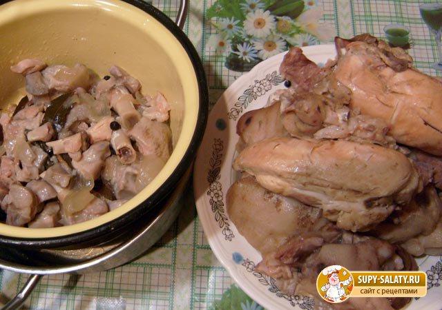 Холодец из говядины, пошаговый рецепт с фото