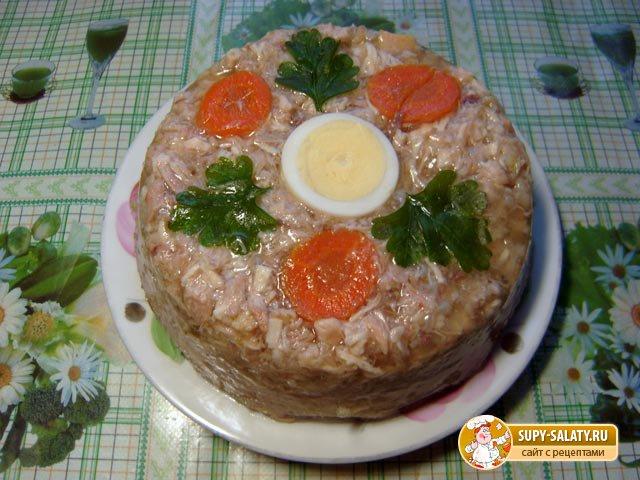 Вкусный холодец рецепт с фото пошагово