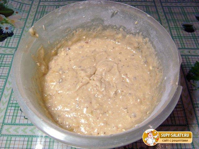 Банановый кекс. Рецепт с пошаговыми фото