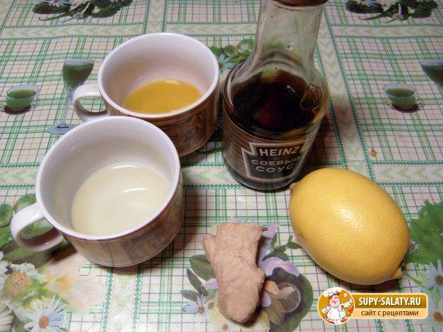 Имбирный соус с медом и лимоном. Рецепт с пошаговыми фото