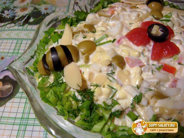 Вкусный овощной салат Рецепт с пошаговыми фото