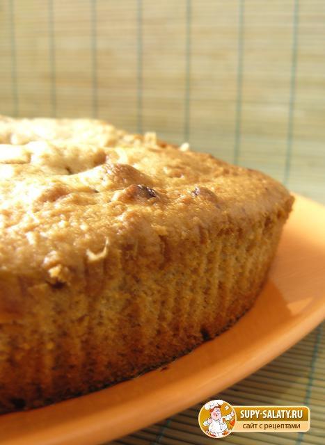 Орехово - шоколадный пирог. Рецепт с фото