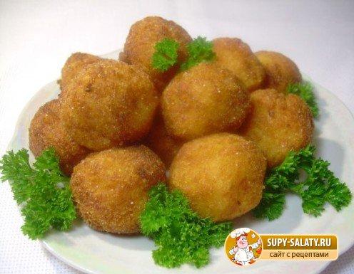 рецепты на Масленицу: картофельные крокеты