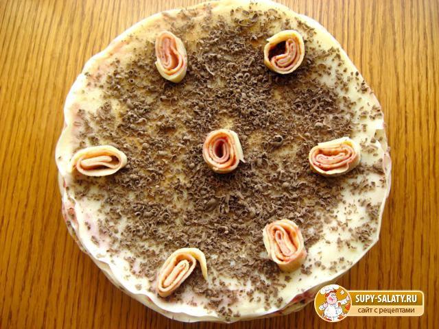 Блинный торт. Рецепт с пошаговыми фото