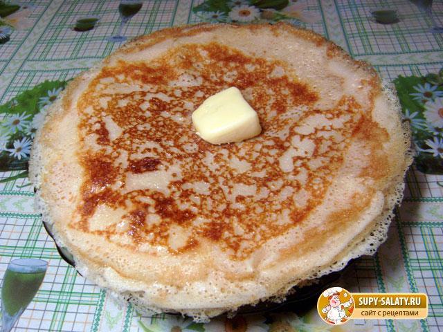 Оладьи на молоке рецепт пошагово с дырочками 4