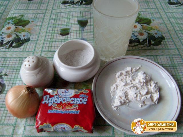 Белый соус. Рецепт с пошаговыми фото