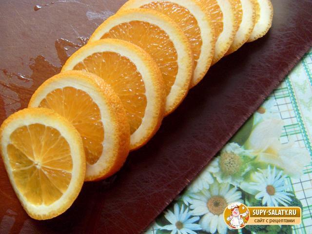 нарезанные апельсины 6