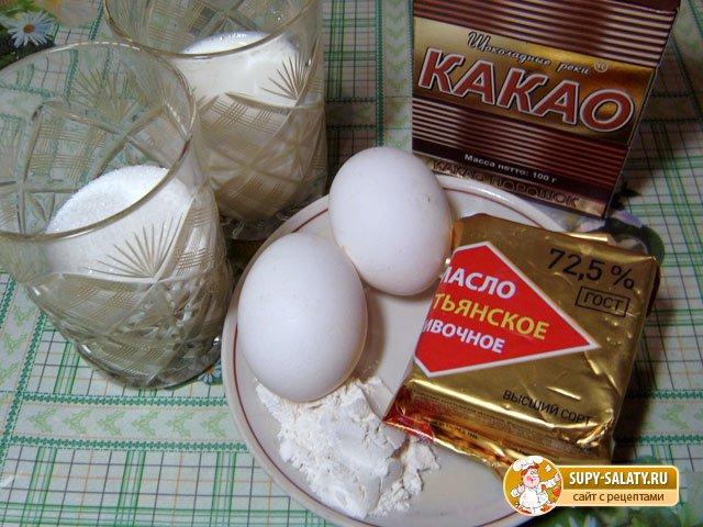 продукты для шоколадного соуса