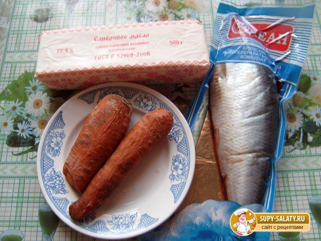 продукты для селедочного масла а-ля лосось