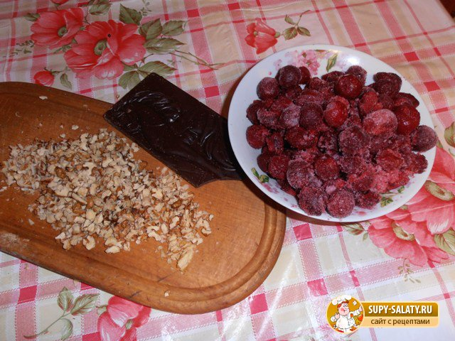 продукты для приготовления начинки торта