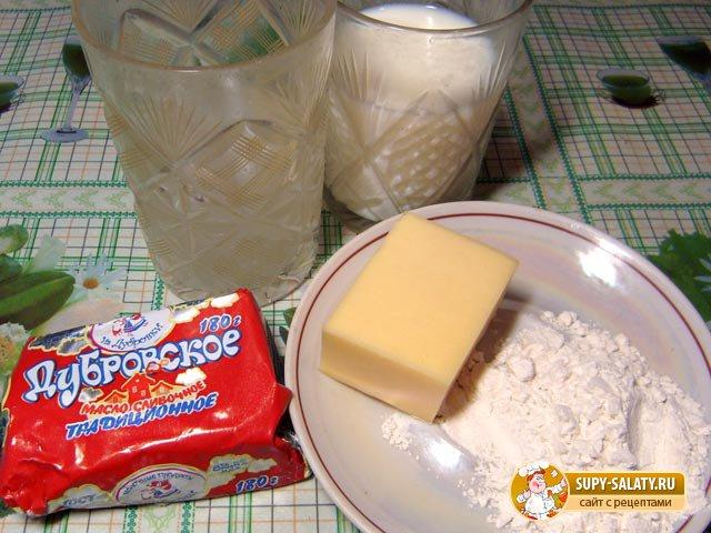 продукты для сырного соуса