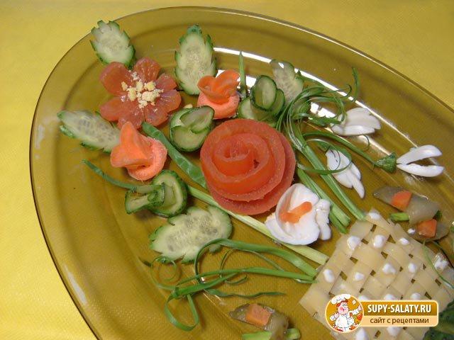 Рецепты салатов с фото легкие салаты простые в