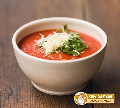 Супы из томатного сока